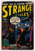 Golden Age (1938-1955):Horror, Strange Tales #6 (Atlas, 1952) Condition: FR....