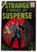 Silver Age (1956-1969):Horror, Strange Stories of Suspense #11 (Atlas, 1956) Condition: VG....