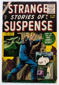Golden Age (1938-1955):Science Fiction, Strange Stories of Suspense #7 (Atlas, 1956) Condition: GD/VG....