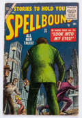 Golden Age (1938-1955):Science Fiction, Spellbound #25 (Atlas, 1955) Condition: GD/VG....