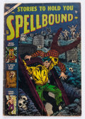 Golden Age (1938-1955):Horror, Spellbound #19 (Atlas, 1954) Condition: GD/VG....