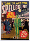 Golden Age (1938-1955):Horror, Spellbound #5 (Atlas, 1952) Condition: GD/VG....