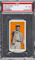 "Baseball Cards:Singles (Pre-1930), 1910 E98 ""Set of 30"" Nap Lajoie, Orange Background PSA VG-EX 4...."
