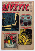 Silver Age (1956-1969):Horror, Mystic #55 (Atlas, 1957) Condition: GD/VG....