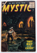 Silver Age (1956-1969):Horror, Mystic #52 (Atlas, 1956) Condition: VG....
