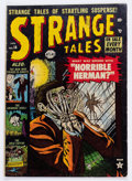 Golden Age (1938-1955):Horror, Strange Tales #14 (Atlas, 1953) Condition: GD/VG....