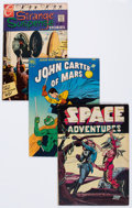 Golden Age (1938-1955):Science Fiction, Comic Books - Assorted Golden and Silver Age Science Fiction andMystery Comics Group of 13 (Various Publishers, 1948-67) Cond...(Total: 13 Comic Books)