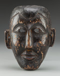 Tribal Art, Mask, Arunachal Pradesh, India. Monpa People...
