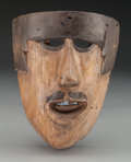 American Indian Art:Wood Sculpture, Dandy Mask, Mexican. 20th c....