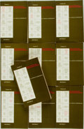Books:Reference & Bibliography, [Bibliography]. Samuel A. and Dorothy R. Tannenbaum. ElizabethanBibliography, Vols. I - X. Port Washington, NY:... (Total: 10Items)