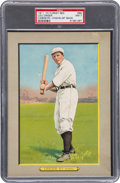 Baseball Cards:Singles (Pre-1930), 1910-11 T3 Turkey Red Lou Criger, Checklist Back #89 PSA NM 7 - PopOne, Highest Graded Example! ...