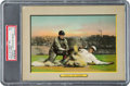 Baseball Cards:Singles (Pre-1930), 1910-11 T3 Turkey Red Safe At Third, Checklist Back #46 PSAEX 5....