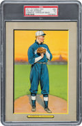 Baseball Cards:Singles (Pre-1930), 1910-11 T3 Turkey Red Walter Johnson, Checklist Back #99 PSA EX 5 -Only One Higher....