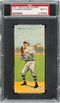 Baseball Cards:Singles (Pre-1930), 1911 T201 Mecca Double Folders Chase/Sweeney PSA Mint 9 - Pop Two,None Higher!...