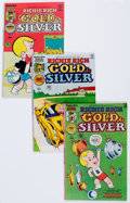 Bronze Age (1970-1979):Cartoon Character, Richie Rich Gold and Silver #3-42 File Copy Near Complete Run ShortBox Group (Harvey, 1975-82) Condition: Average NM-.... (Total: 2Comic Books)