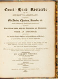 Books:Reference & Bibliography, Andrew Wright. Court = Hand Restored: or, the Student'sAssistant, in Reading Old Deeds, Charters, Records, Etc. Lo...