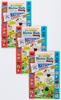 Richie Rich, Casper and Wendy National League #1 File Copy Long Box Group (Harvey, 1976) Condition: Average VF/NM