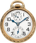 Timepieces:Pocket (post 1900), Elgin 21 Jewel B.W. Raymond Wind Indicator. ...