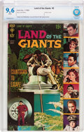 Silver Age (1956-1969):Miscellaneous, Land of the Giants #2 (Gold Key, 1969) CBCS NM+ 9.6 White pages....