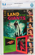 Silver Age (1956-1969):Adventure, Land of the Giants #4 (Gold Key, 1969) CBCS NM 9.4 Off-white to white pages....