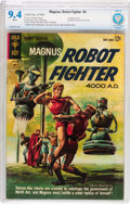Silver Age (1956-1969):Science Fiction, Magnus Robot Fighter #2 (Gold Key, 1963) CBCS NM 9.4 Whitepages....
