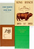 Books:Americana & American History, [Texana]. Group of Four Titles. Various publishers and dates....(Total: 4 Items)
