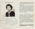 Political:Presidential Relics, Jacqueline Bouvier Kennedy: Her 1950s Passport....