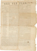 Miscellaneous:Newspaper, [Union Occupation]. Newspaper: Our Old Flag. ...