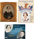 Photography:Ambrotypes, [Zachary Taylor]: First Lady Margaret Taylor Ambrotype....