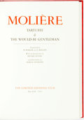 Books:Literature Pre-1900, Serge Ivanoff, illustrator. SIGNED/LIMITED. Moliere. Tartuffe& The Would-Be Gentleman. New York: The Limited Editio...