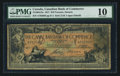 Canadian Currency: , Toronto, ON- Canadian Bank of Commerce $10 Jan. 2, 1917 Ch #75-16-04-12a. ...