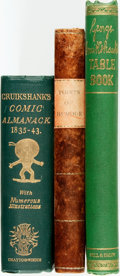 Books:Art & Architecture, George Cruikshank, English illustrator (1792 - 1878). Group of Three Books Illustrated by Cruikshank. Various publishers and... (Total: 3 Items)