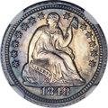 Seated Half Dimes, 1848-O H10C -- Improperly Cleaned -- NGC Details. Unc. V-4....