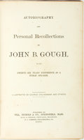 Books:Biography & Memoir, John B. Gough. Autobiography and Personal Recollections of JohnB. Gough, with Twenty-Six Years' Experience as a Public ...