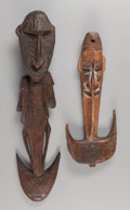 Tribal Art, Two Hooks, Papua New Guinea ... (Total: 2 Items)