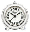 "Timepieces:Clocks, Chopard ""Happy Day"" Alarm Clock. ..."