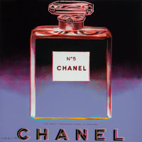 Andy Warhol (American, 1928-1987) Chanel (from Ads), 1985 Screenprint in colors on Lenox