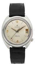 Timepieces:Wristwatch, Hamilton Model 505C Wear-Tested Calendar Electric, Never Marketed....