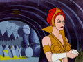 Animation Art:Production Cel, He-Man and the Masters of the Universe Teela Production CelSetup (Filmation, 1983).... (Total: 2 Items)