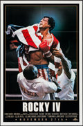"Movie Posters:Sports, Rocky IV & Other Lot (MGM/UA, 1985). One Sheets (2) (27"" X 41"") Advance. Sports.. ... (Total: 2 Items)"