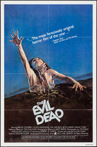 "The Evil Dead (New Line, 1983). One Sheet (27"" X 41""). Horror"