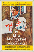 "Movie Posters:Drama, To Kill a Mockingbird (Universal, 1963). One Sheet (27"" X 41""). Drama.. ..."