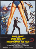 "Movie Posters:James Bond, For Your Eyes Only (United Artists, 1981). French Grande (45.75"" X 62""). James Bond.. ..."
