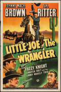 "Movie Posters:Western, Little Joe, the Wrangler (Universal, 1942). One Sheet (27"" X 41""). Western.. ..."