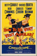 "Movie Posters:Comedy, How to Be Very, Very Popular & Other Lot (20th Century Fox, 1955). One Sheets (2) (27"" X 41""). Comedy.. ... (Total: 2 Items)"