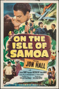 "Movie Posters:Adventure, On the Isle of Samoa (Columbia, 1950). One Sheet (27"" X 41"").Adventure.. ..."