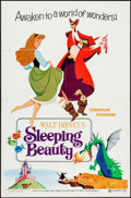 "Movie Posters:Animation, Sleeping Beauty (Buena Vista, R-1970). One Sheet (27"" X 41"") Style B. Animation.. ..."