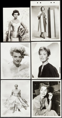 "Sophia Loren & Others Lot (Paramount, 1950s). Portrait Photos (20) (7.25"" X 9.25"" - 8.25"" X 10.25..."