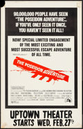 "Movie Posters:Action, The Poseidon Adventure (20th Century Fox, 1972). Window Card (14"" X 22""). Action.. ..."