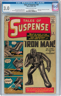 Tales of Suspense #39 (Marvel, 1963) CGC GD/VG 3.0 Cream to off-white pages